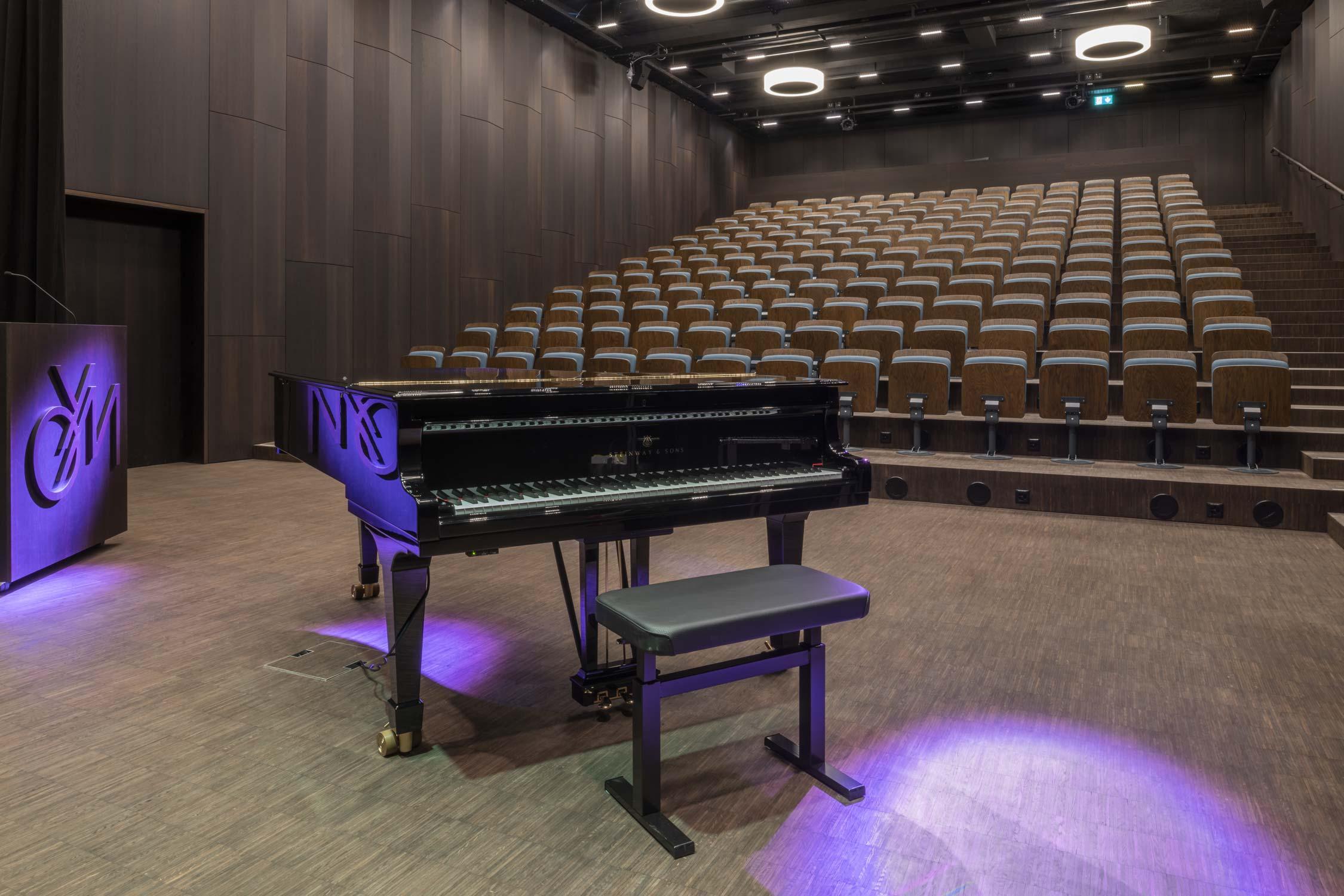 OYM Innenaufnahme Auditorium Architekturfotografie Regine Giesecke