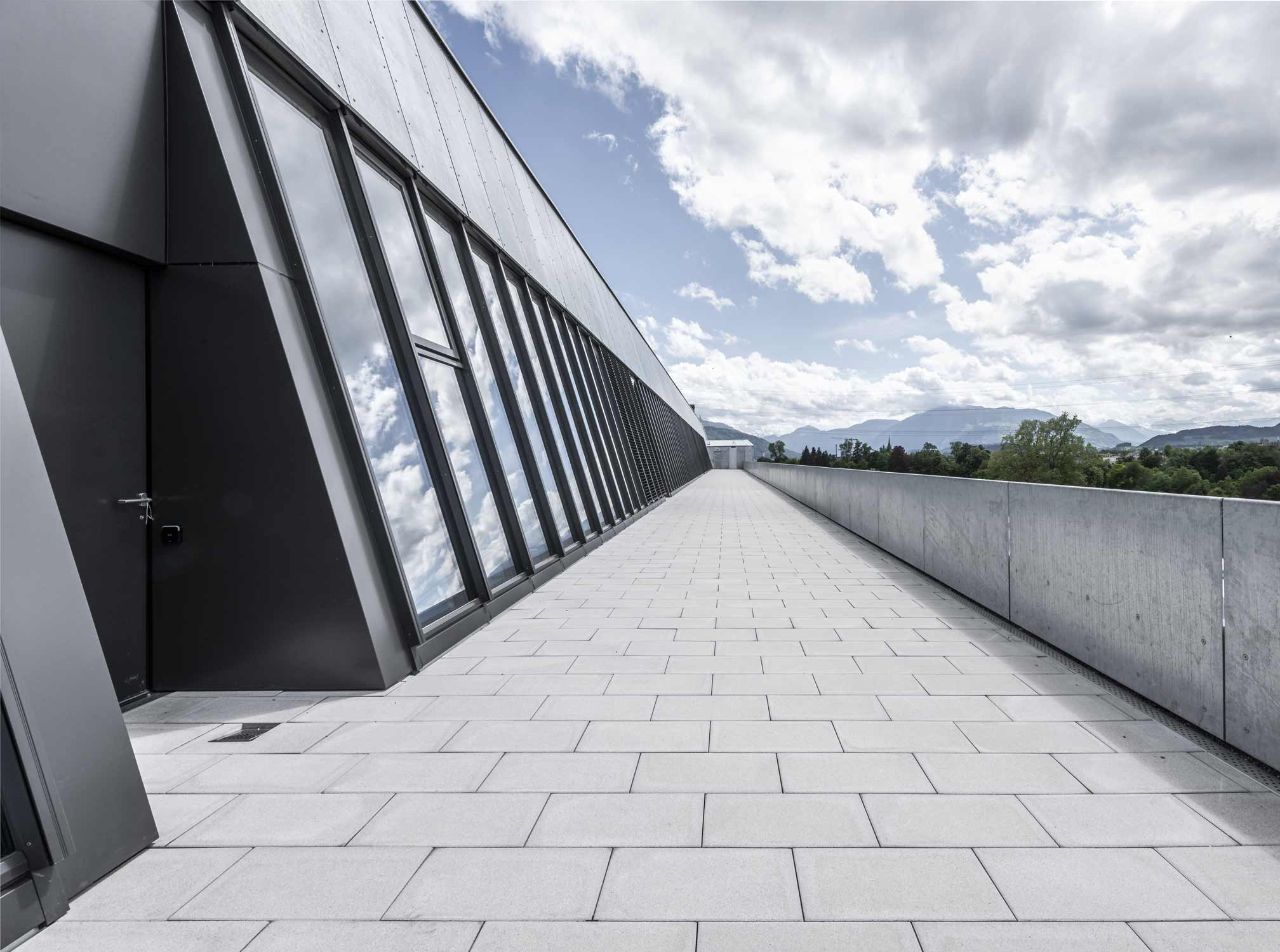 OYM Aussenaufnahme Dachterrasse Architekturfotografie Regine Giesecke