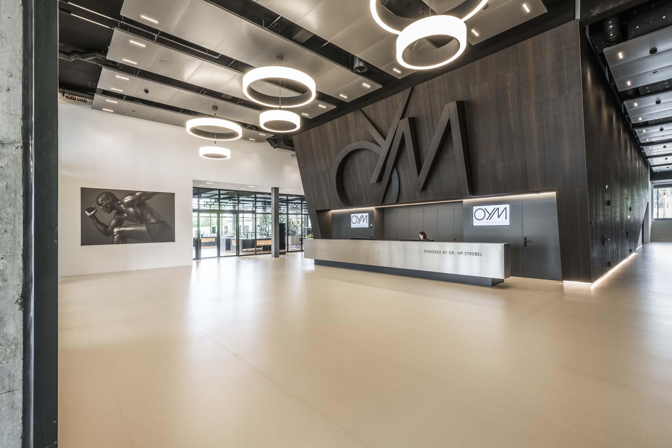 OYM Innenaufnahme Empfangsbereich Architekturfotografie Regine Giesecke