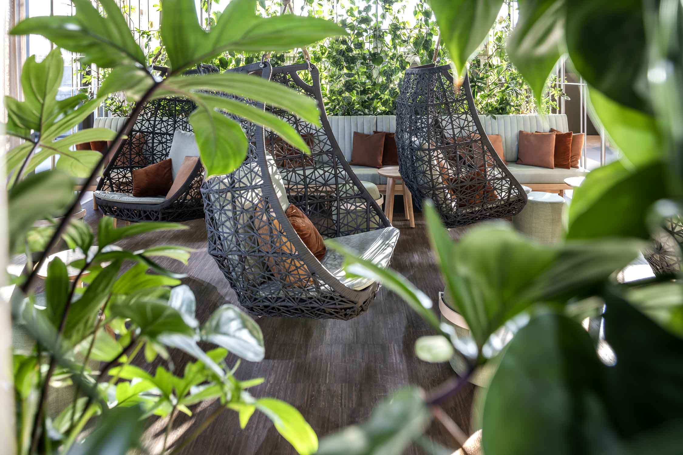 OYM Innenaufnahme Loungebereich Restaurant Architekturfotografie Regine Giesecke
