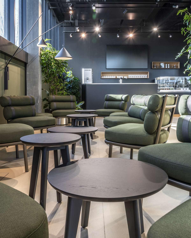 OYM Innenaufnahme Restaurant Cafeteria Architekturfotografie Regine Giesecke