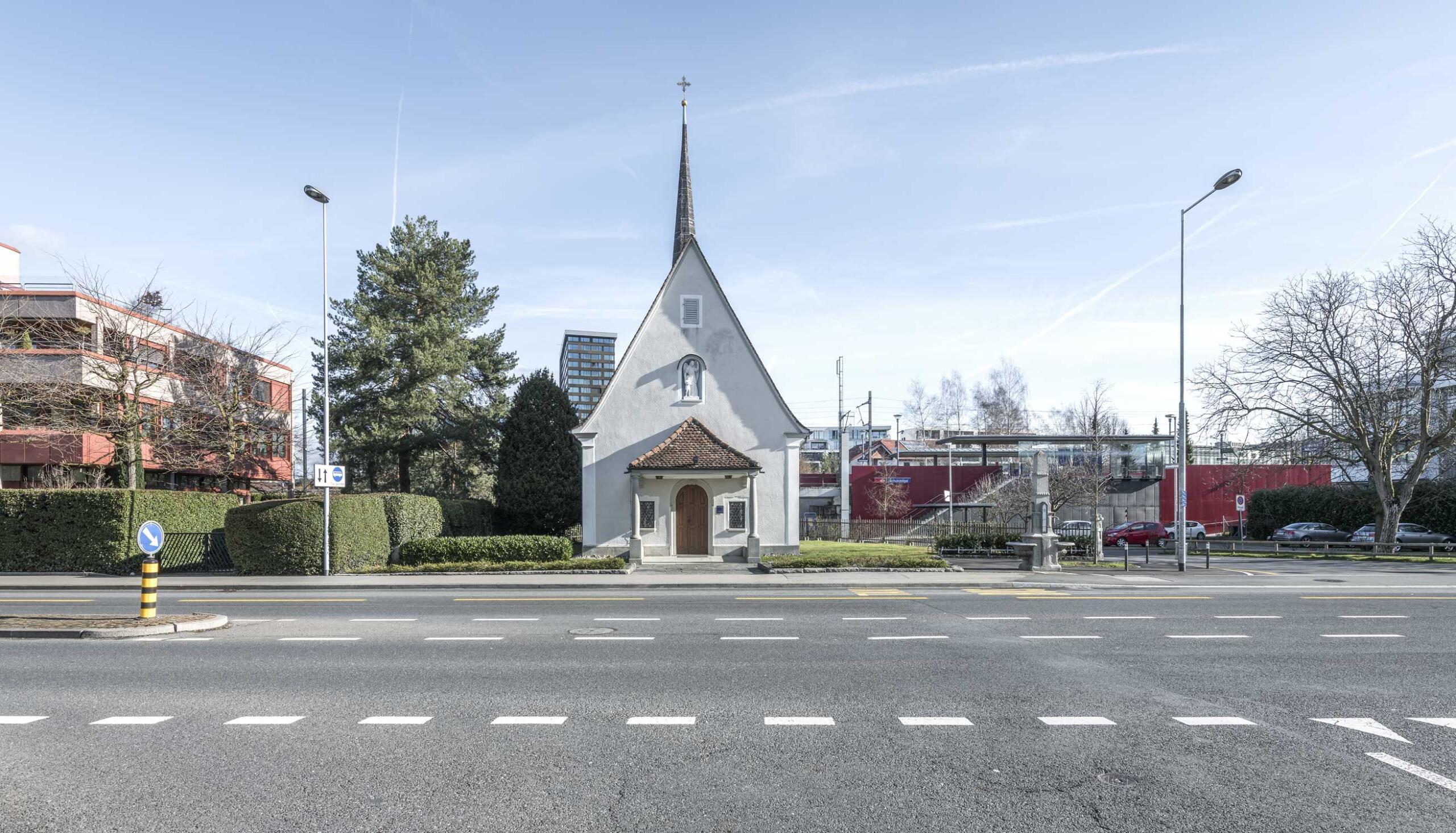Schutzengel Kapelle in Zug Fotografie Regine Giesecke