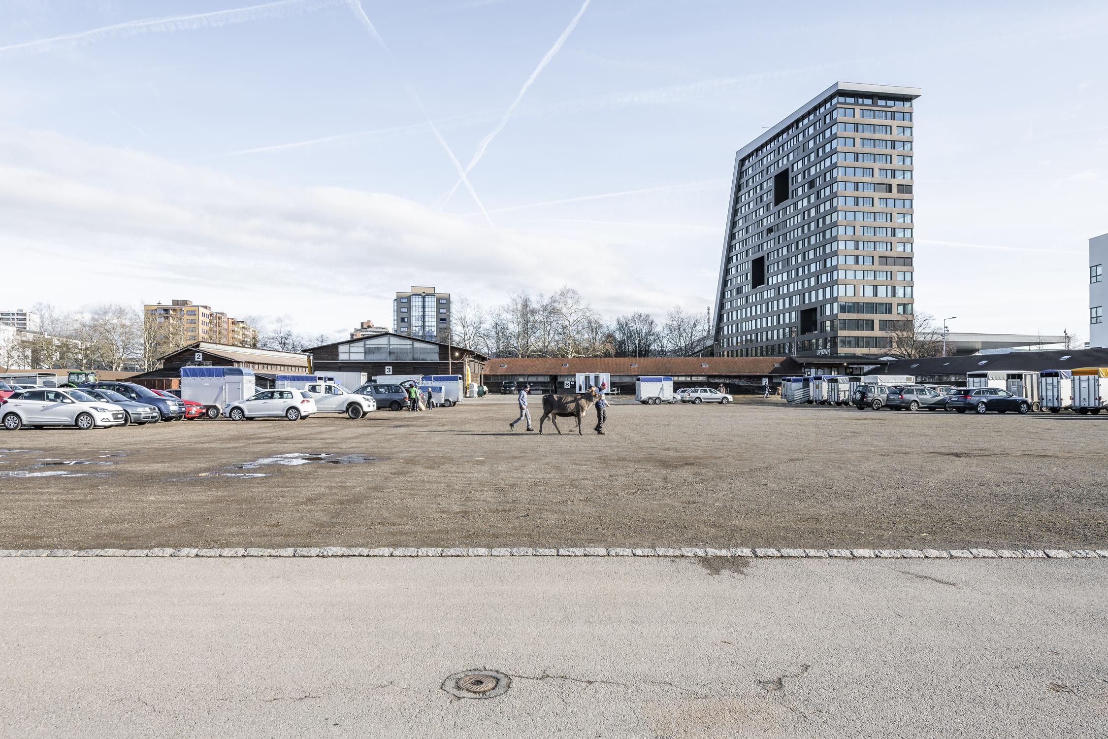 Stierenmarktplatz in Zug fotografiert von Regine Giesecke