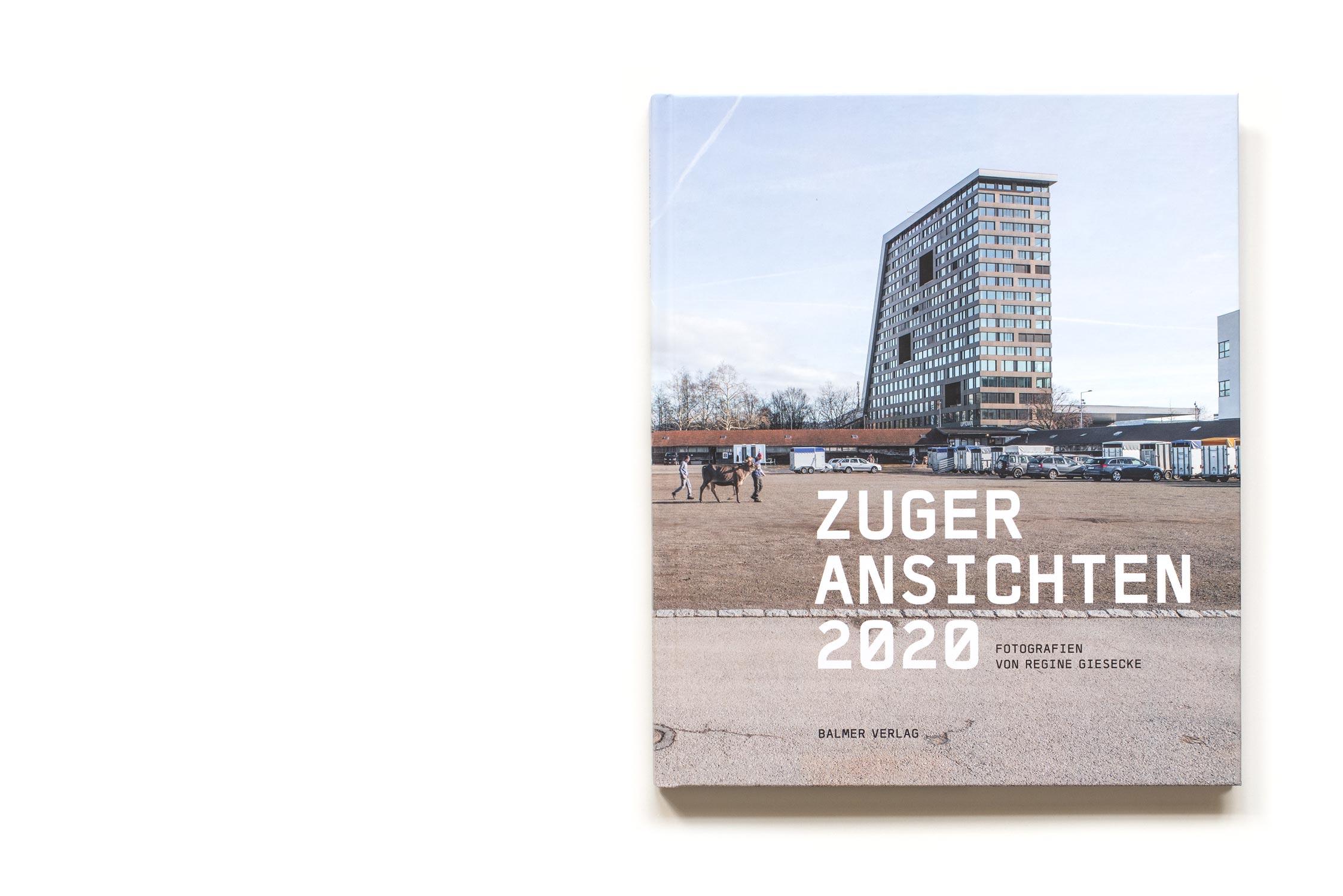 Titelseite Buch Zuger Ansichten 2020 von Regine Giesecke