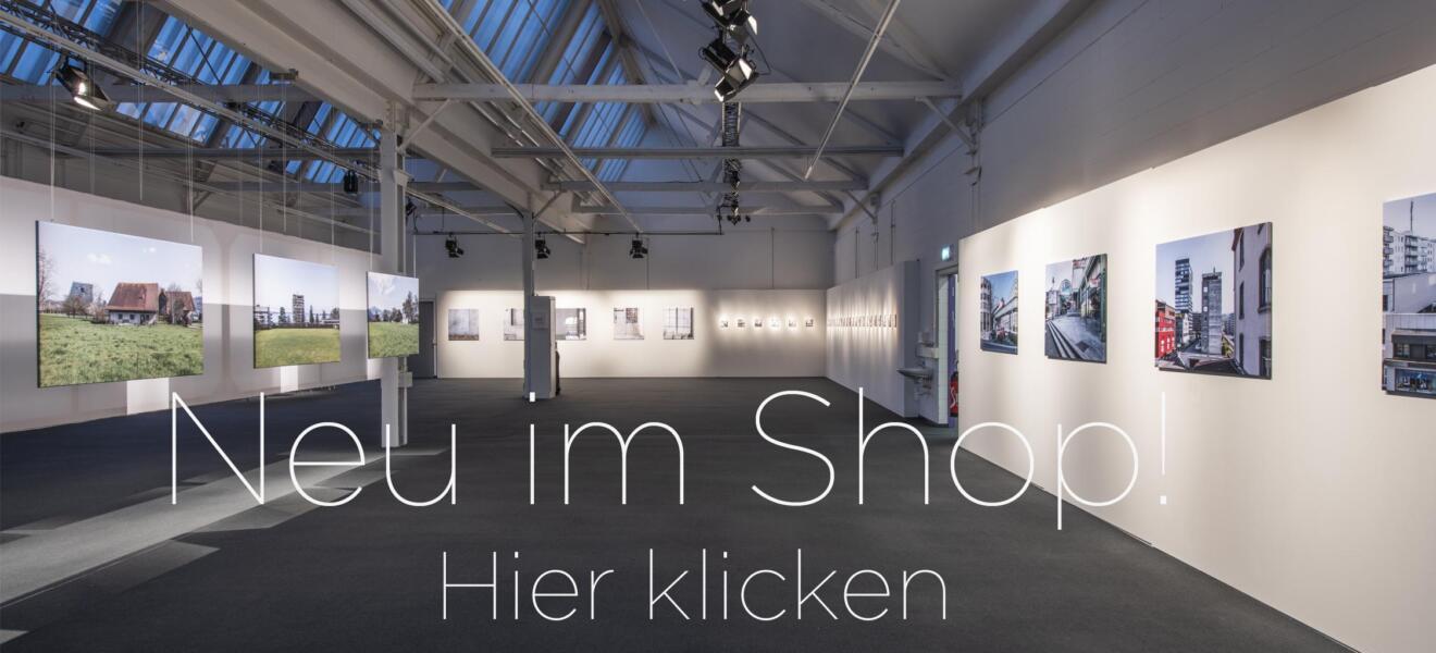 Ausstellung Zuger Ansichten 2020 in der Shedhalle in Zug. Fotografien von Regine Giesecke